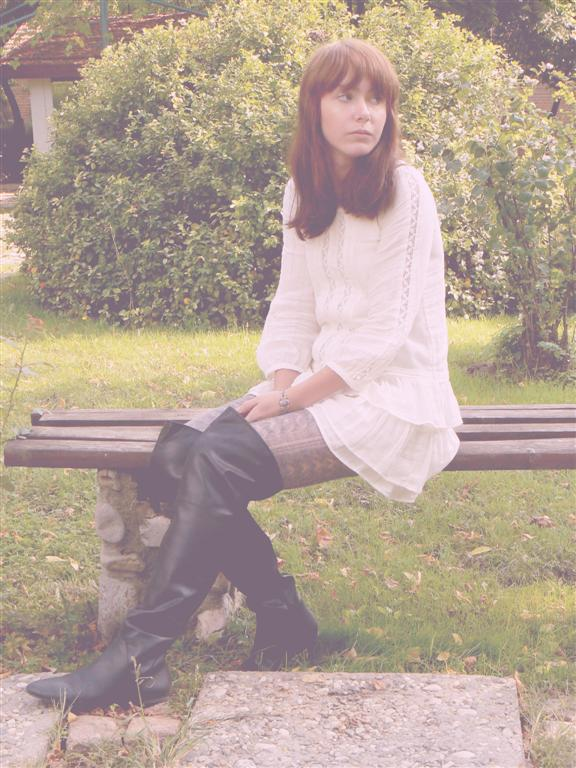 zara knitwear thigh high boots