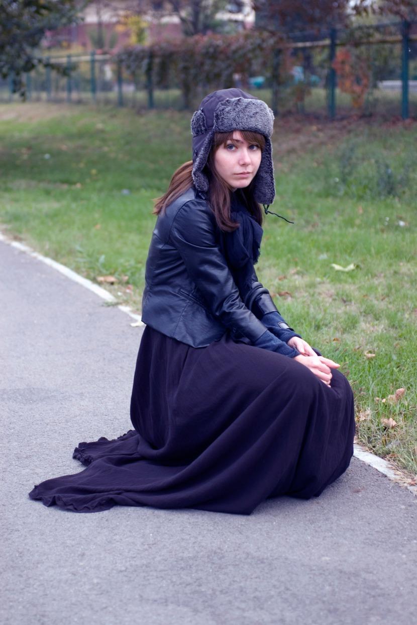 cosmic audrey ioana cristina h&m russian hat