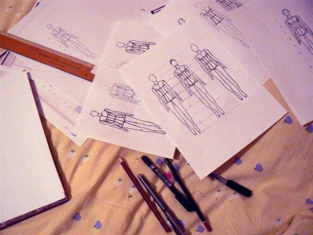 flat sketch cosmic audrey