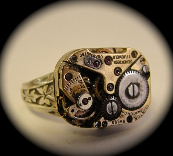 steampunk jewelry etsy