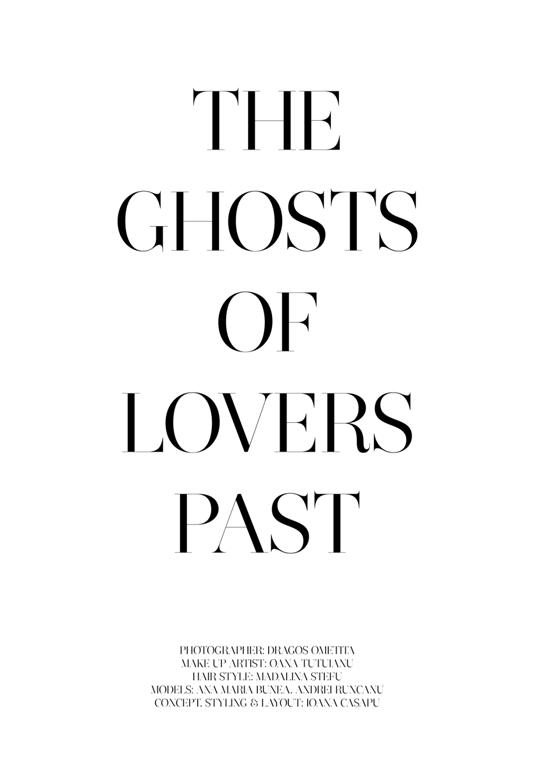 THE GHOSTS OF LOVERS PAST FASHION PICTORIAL